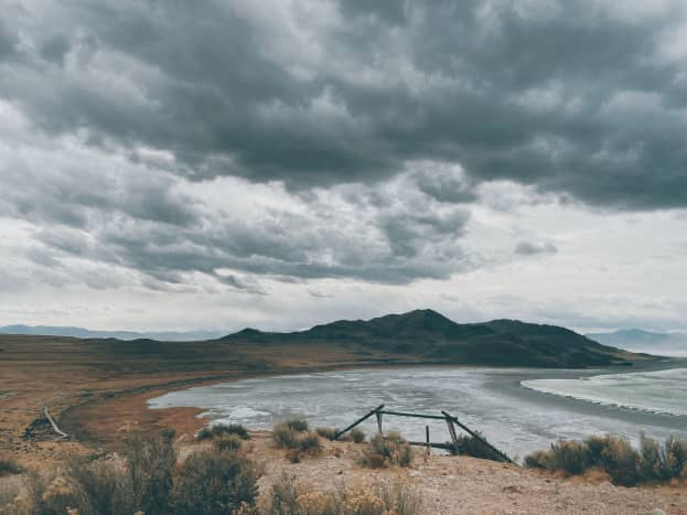This was just one of many beautiful views of Antelope Island!