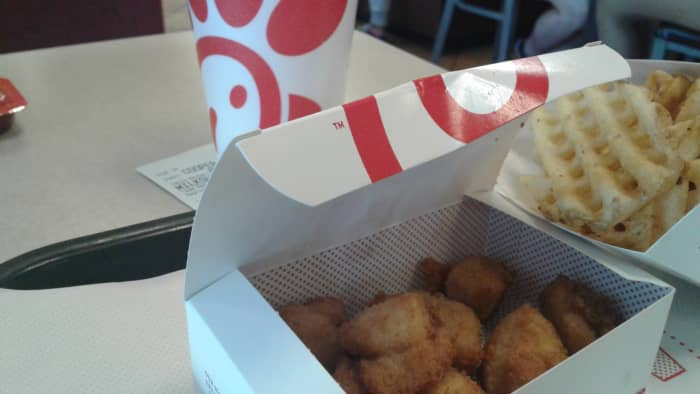 You can never go wrong with Chick Fil A