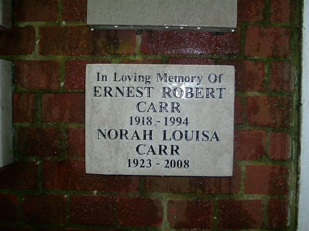 Names in a Memorial Garden; deaths which changed my life for ever.