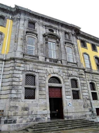 Entrance to Centro Portugues de Fotografia