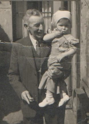 Granddad M with Little Me!