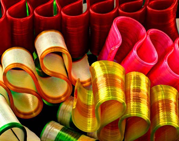 Ribbon candy.