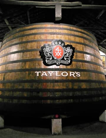 100,000 liters of port wine.