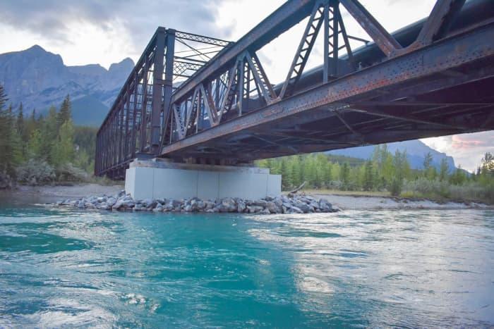 Engine Bridge in Canmore, Canada.