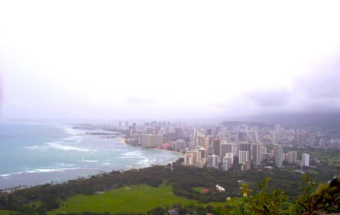 View of Honolulu from the Top
