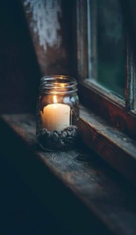Flames nourish our souls with light and warmth. Nurture a habit of using candles often and mindfully.