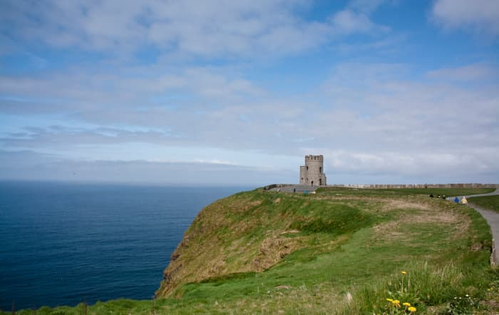 A view of O'Brien's Tower, Cliffs of Moher, Ireland