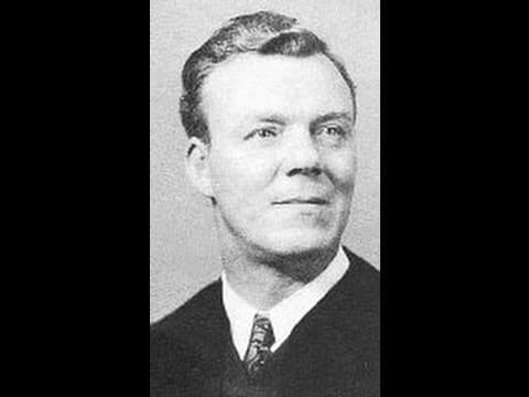 US Senate Chaplain, Reverend Peter Marshall (1902 - 1949).