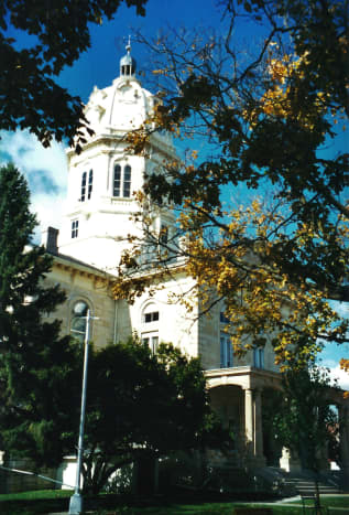 Courthouse in Winterset, Iowa