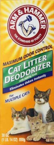 Typical cat deodorizer