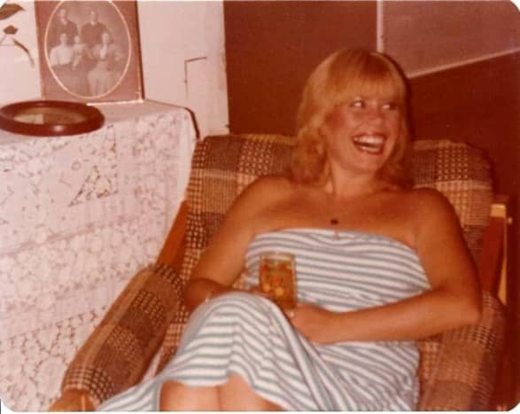 1980 Paula at my house in Tampa