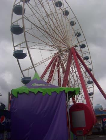 A Ferris Wheel at the Boardwalk