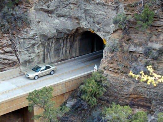 Zion-Mount Carmel Tunnel