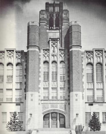 The Tower of Whitefish Bay High School