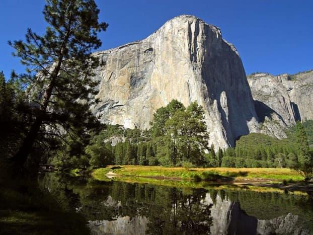 El Capitan and the Merced River, Yosemite National Park.