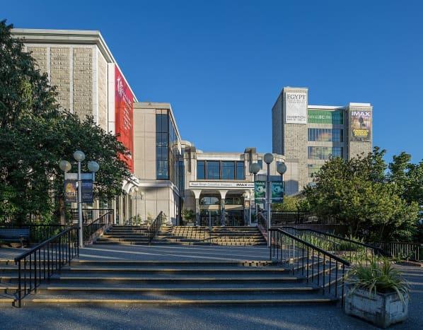 Exterior of Royal British Columbia Museum