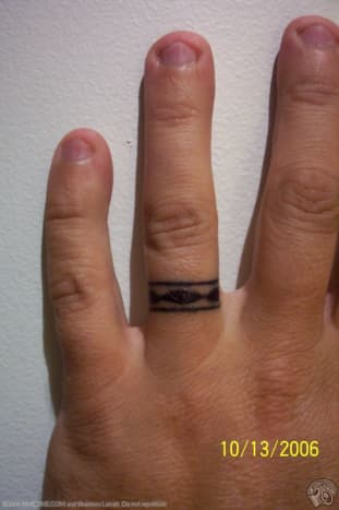 A ring.