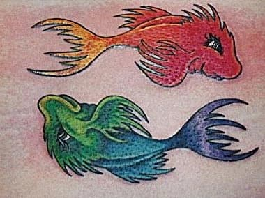 """One Fish, Two Fish, Red Fish, Blue Fish,"" by Dr. Seuss"
