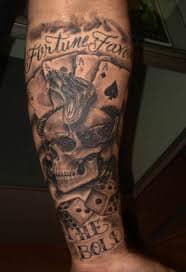 Dice Tattoo Design