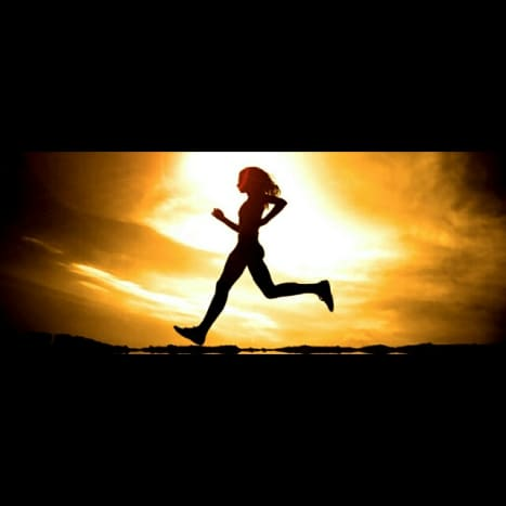 There's no better friendship than that of your legs and arms when you run.