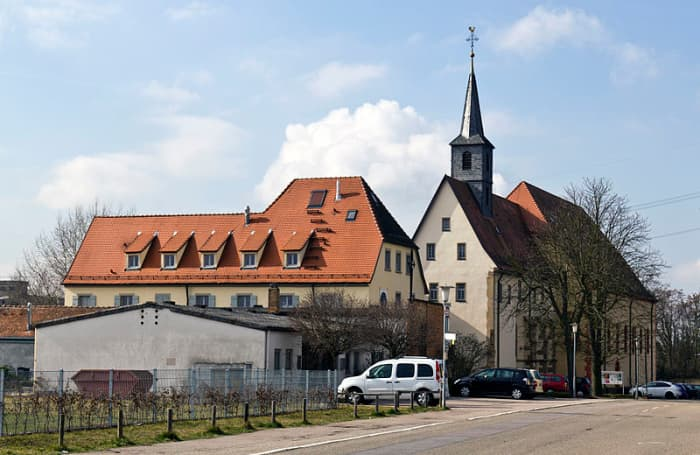 Marian pilgrimage church in Waghäusel