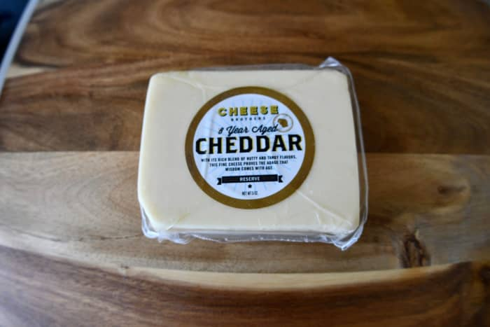 """In the words of one of my friends: """"It's nutty, salty, tangy, wonderful, and sharp."""" He went home with the rest of the cheese block, because it was his favorite. (Actually, most of us were fans of it.)"""