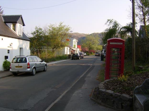 Taynuilt Main Street Looking North