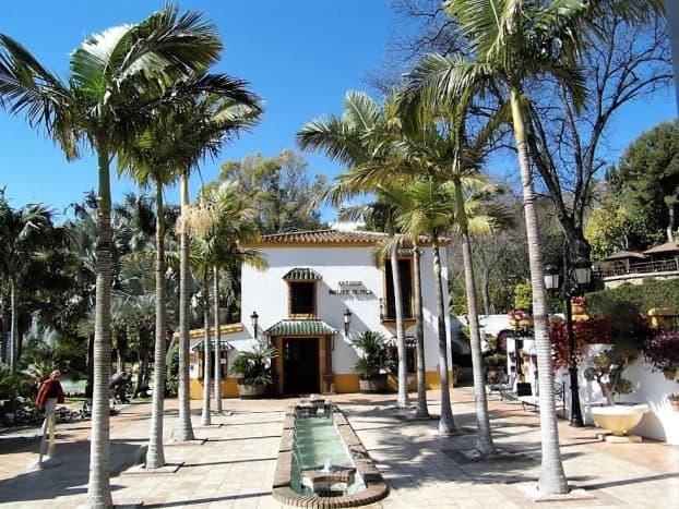 Molino de Inca Jardin Botanico, Torremolinos.