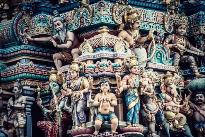 Hinduism: Some Hindu deity statues