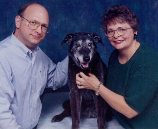 My official PetsMart photo with my parents