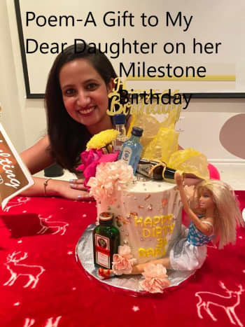 Poem-A Gift to My Dear Daughter on her Milestone Birthday