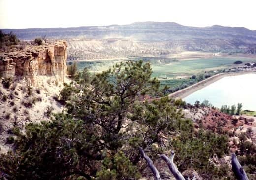 Escalante Petrified Forest State Park ~ Yes, there is petrified wood found there!