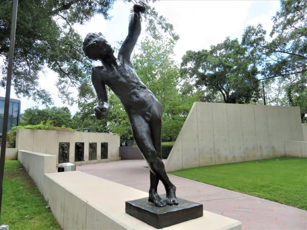 Spirit of Eternal Repose by Auguste Rodin