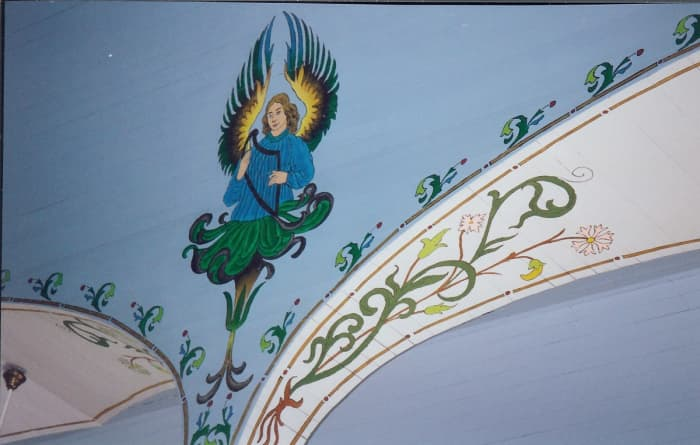 Interior photo of Sts. Cyril & Methodius Church