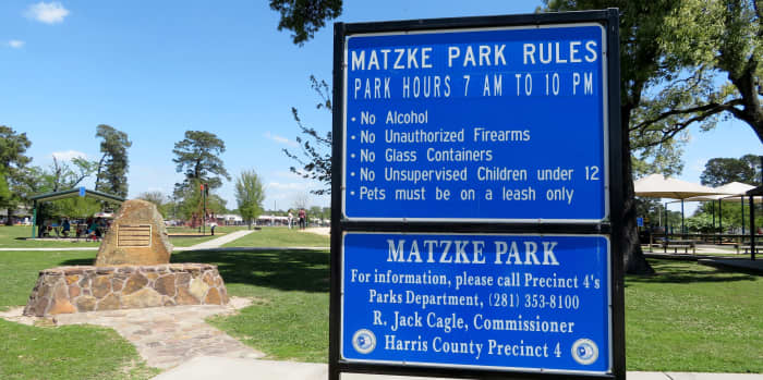 Park hours and rules