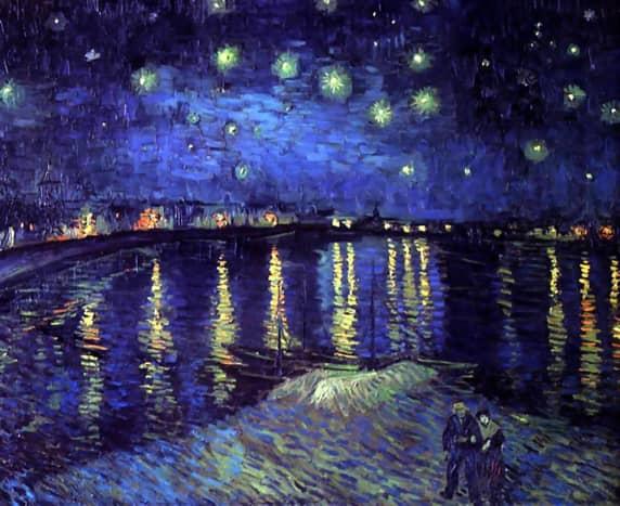 """Starry Night Over the Rhone"" - September 1888"