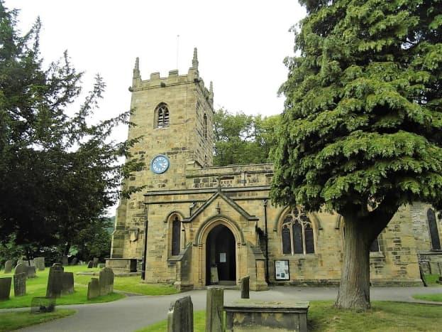 Eyam Parish Church.