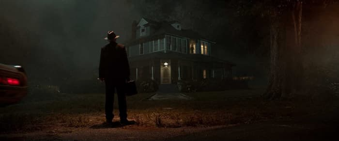 This homage to 'The Exorcist' was unnecessary. When homage works, it can work terrifically. But 'The Conjuring' movies are known to find ways to pay tribute to classic horror without being so lazy as mimicking iconic shots.