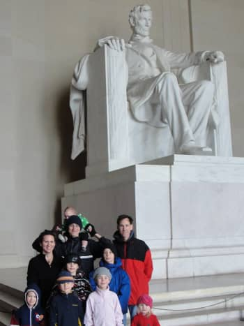 """Did you know the Lincoln Memorial is at the top of the list of """"Things to Do in Washington, D.C."""" on Tripadvisor .com?"""