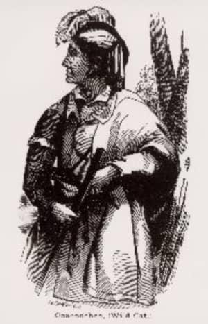 Seminole Chief Coacoochee (Wild Cat).