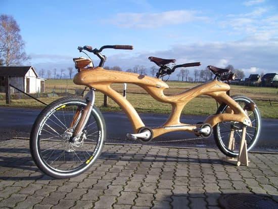 Wooden tandem