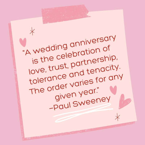 Love, partnership, and trust go a long way.