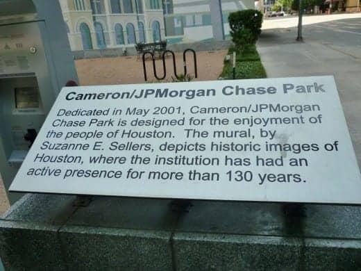 Cameron pocket park info.