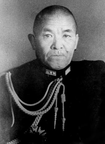 Chuichi Nagumo commander of the First Air Fleet at Midway considered by some of his superiors too cautious to lead the strike force. His carrier force would be wiped out at Midway. He would committed suicide later in the war.