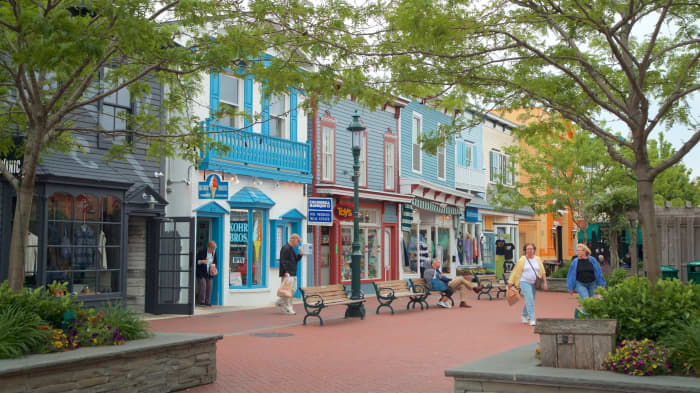 Washington Street in Downtown Cape May