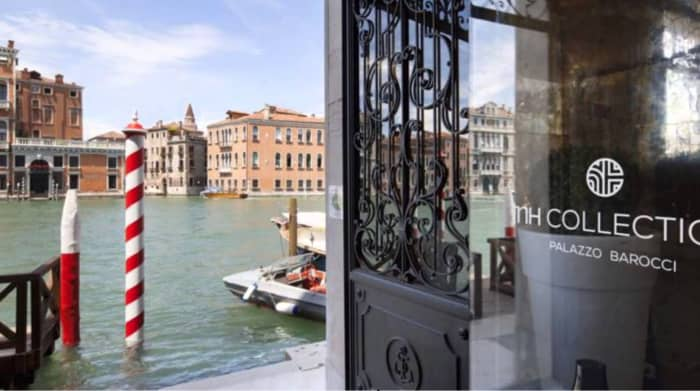 View of the Grand Canal from the Venezia Palace Barocci