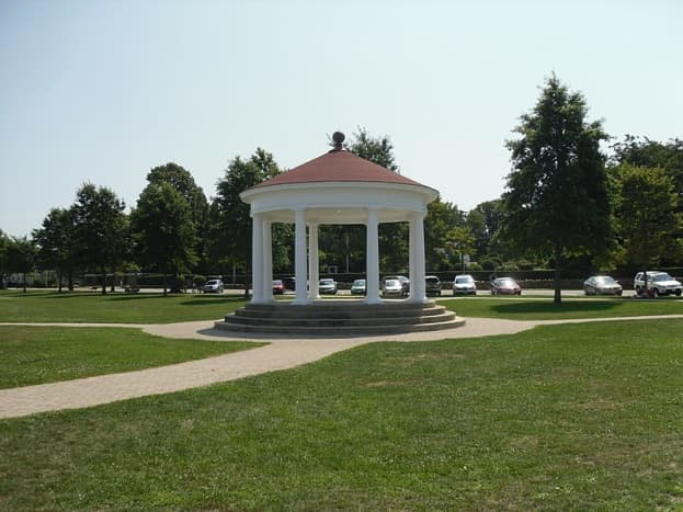 King's Park Gazebo, site of the weekly summer concert series