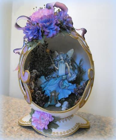 decorative handmade egg