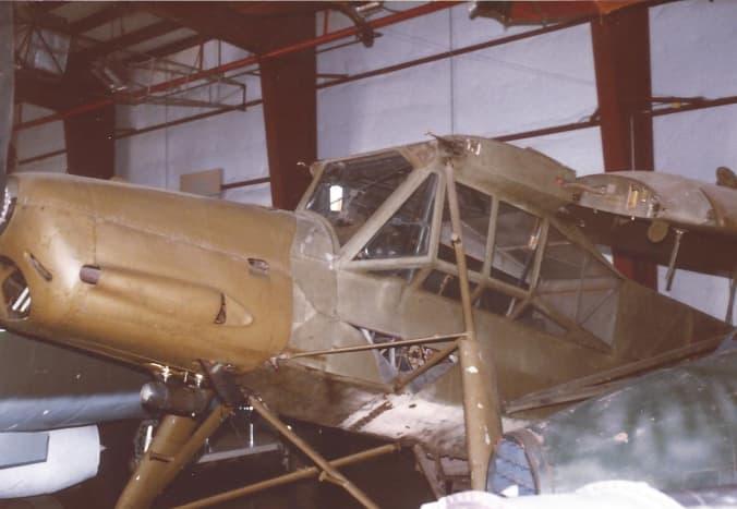A Fieseler Storch at the Paul E. Garber Facility, May 1998.