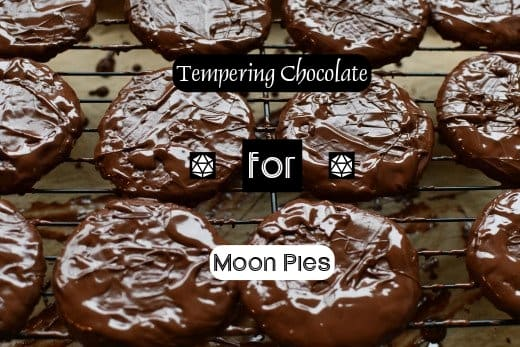 Tempering chocolate can be a challenge. Use dark chocolate to make your life easier. Do not use boiling water to melt your chocolate. Also, make sure your chocolates have cooled down completely before putting them in the fridge.